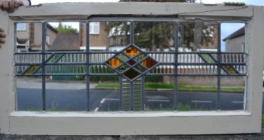 R222. £70. SOLD. Glass: 31 x 76.5, frame: 40.8 x 84cm