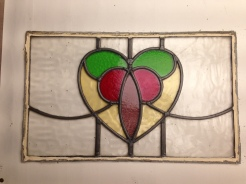 The centre piece of new panel is from an old reclaimed top light. More from the R199 set still available.