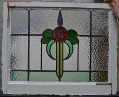 R344j. SOLD. £45. 3 cracks in glass.