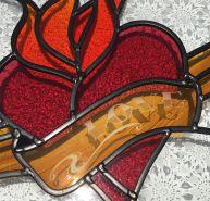 CG009 tattoo heart love detail 1