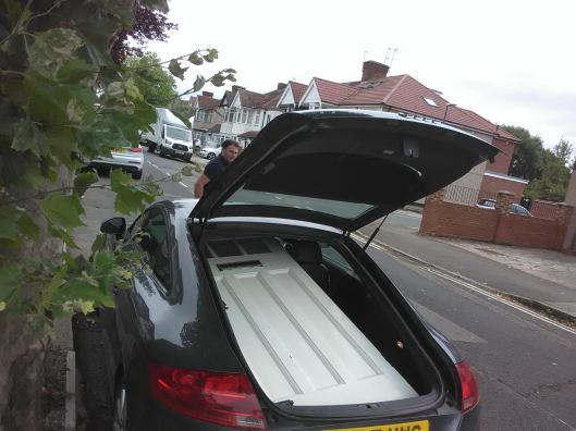 Audi TT door